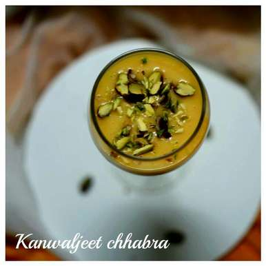 Photo of Mango lassi by Kanwaljeet Chhabra at BetterButter