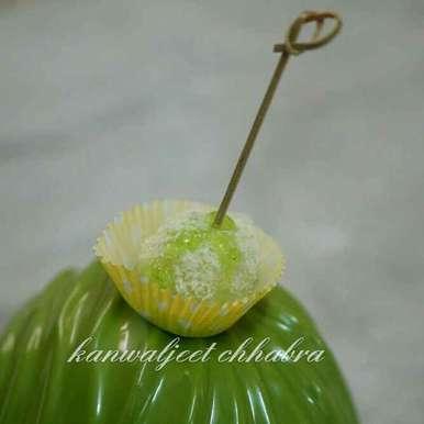 Photo of Kiwi Coconut Balls by Kanwaljeet Chhabra at BetterButter