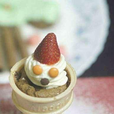 Photo of icecream cone cake by Kanwaljeet Chhabra at BetterButter