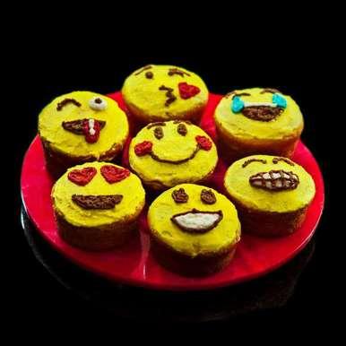 Photo of Emoji Cupcakes by Kartikeya Mishra at BetterButter