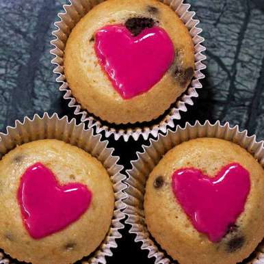 Photo of Valentine's Day Special Marble Cupcakes by Kartikeya Mishra at BetterButter