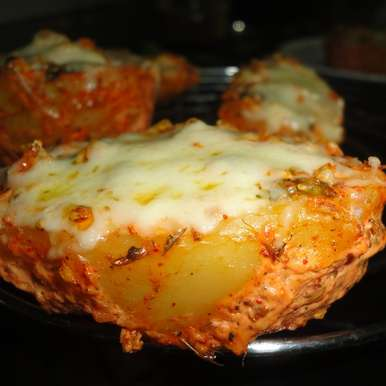 Surprising Cottage Cheese Stuffed Baked Potatoes Download Free Architecture Designs Scobabritishbridgeorg