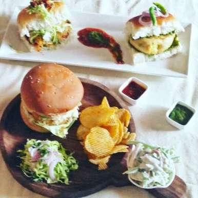 Photo of Veg (:hamburger:) Burger by Kashish Thakur at BetterButter