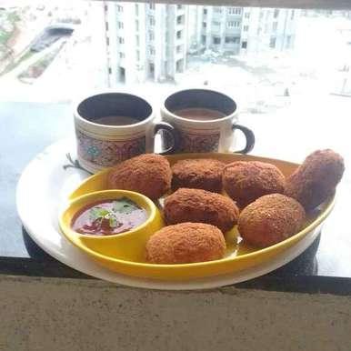 Photo of quick chicken cutlet by Kaushiki Sarkar at BetterButter