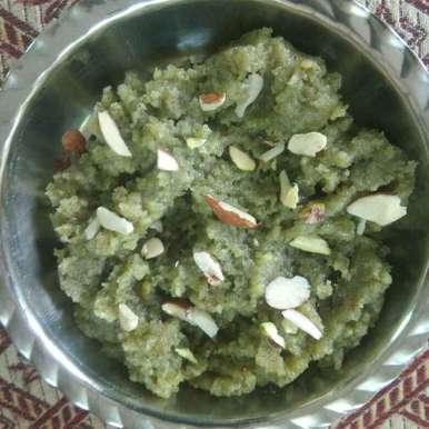 Green gram halwa. recipe in Gujarati, મગ નો હલવો..., Kavi Nidhida