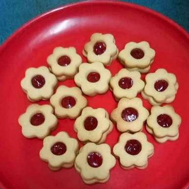 Photo of Jam cookies by kavitha karunakaran at BetterButter