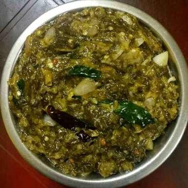 GONGURA ullipaya pachadi recipe in Telugu,గోంగూర ఉల్లిపాయలు పచ్చడి, Kavitha Perumareddy