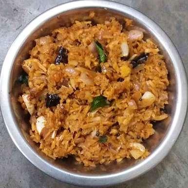 Coconut onion chutney recipe in Telugu,కొబ్బరి ఉల్లిపాయ పచ్చడి, Kavitha Perumareddy