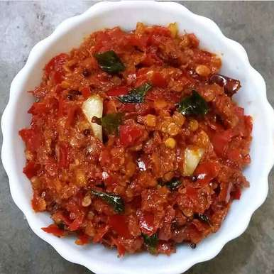 Photo of Red chilli pickle by Kavitha Perumareddy at BetterButter