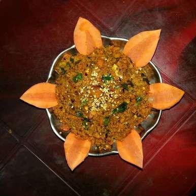 carrot pachadi recipe in Telugu,క్యారెట్ పచ్చడి, Kavitha Perumareddy