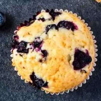 Photo of Blueberry muffins by Khushboo Doshi at BetterButter