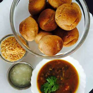 Photo of dal bati by Khushboo Gangotri at BetterButter
