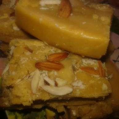 Photo of Gram flour barfi by Kiran Kherajani at BetterButter