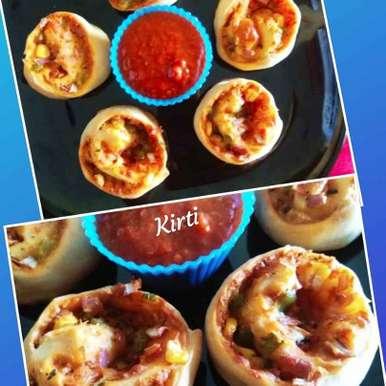 Photo of Mini pizza rolls by Kirti Das at BetterButter