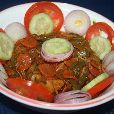 Photo of Salad Chicken by Koyeli S. at BetterButter
