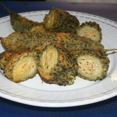 Photo of Stuffed Karela (Bitter Gourd) Fry by Koyeli S. at BetterButter