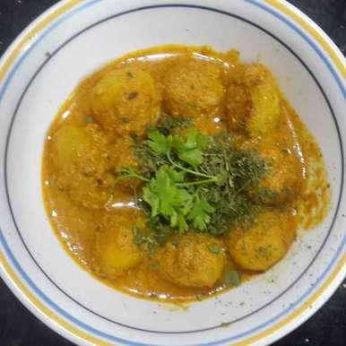 Photo of aloo dhum by Krishnasamy Vidya Valli at BetterButter