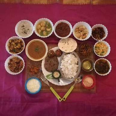 Photo of Dal special - grand fusion thali by Krishnasamy Vidya Valli at BetterButter