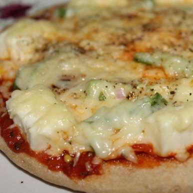Photo of Whole Wheat Pizza by Krithika Chandrasekaran at BetterButter