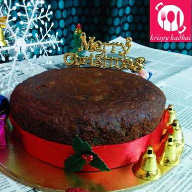 Photo of Christmas Plum Cake - Treat from generations! by Kriti Singhal at BetterButter