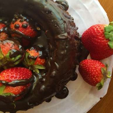 Photo of Molten Choco-Berry Cake by Kriti Singhal at BetterButter