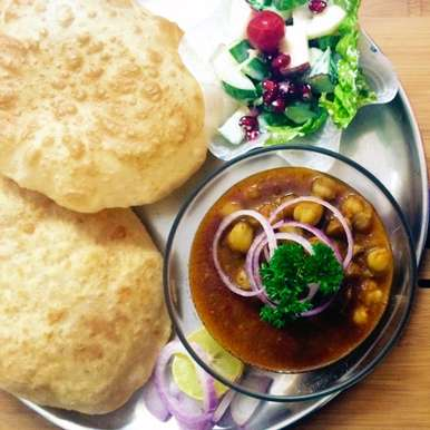 Photo of Chola Bhatura - A typical Indian Street Food by Kriti Singhal at BetterButter