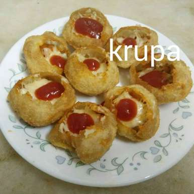 Photo of CHEESE BURST PANI-PURI by Krupa Shah at BetterButter