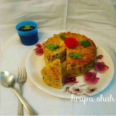 Photo of Spaghetti cake by Krupa Shah at BetterButter
