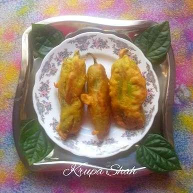 Photo of Stuffed mirchi pakoda by Krupa Shah at BetterButter