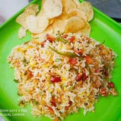 Photo of Maggi Magic Masala Cube Rice by Kuldeep Kaur Arora at BetterButter