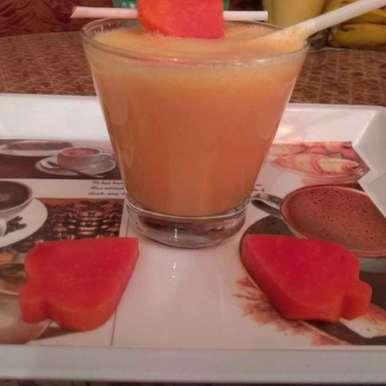 Photo of Papaya Smoothie by Kuldeep Kaur Arora at BetterButter