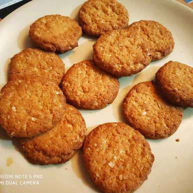 Photo of Oats nuts Cookies by Kuldeep Kaur Arora at BetterButter