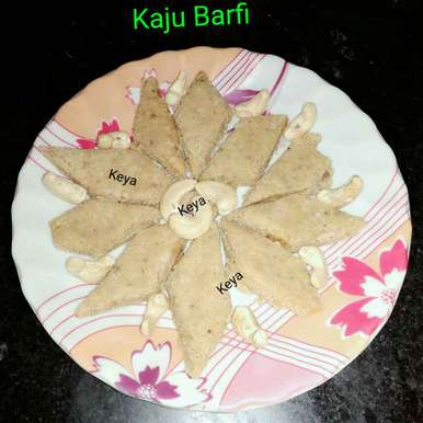 Photo of Kaju Barfi by Keya Deb at BetterButter