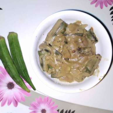Photo of Ladies finger curd curry by Lakshmi Kantham at BetterButter