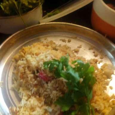 Sweet potato pulav, How to make Sweet potato pulav
