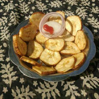 Banana chips, How to make Banana chips