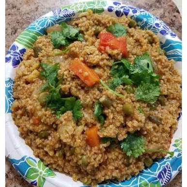 Photo of Wheat ravva pulav by Lalitha Kandala at BetterButter