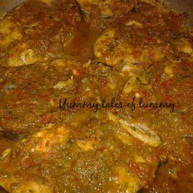 Photo of Fish in Garlic and green masala gravy by Lata Lala at BetterButter
