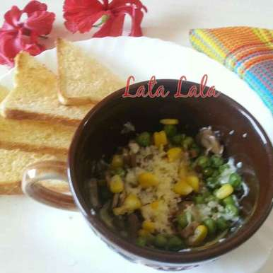 Photo of Vegetable Omelette in Mug by Lata Lala at BetterButter
