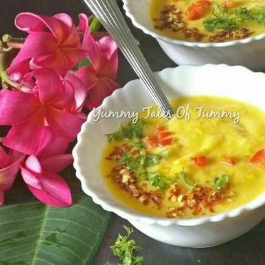 Photo of Thai mango chilly soup twist  by Lata Lala at BetterButter