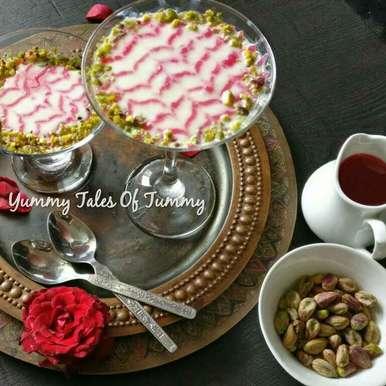 Gulabi mahalbiya recipe in Hindi,गुलाबी महालबिया, Lata Lala