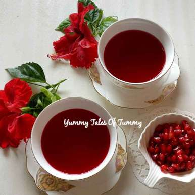 Photo of Pomegranate Peel Tea/ Tisane by Lata Lala at BetterButter