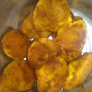 Photo of Colocasia / arbi/ seppankizhangu fry by Lavanya Dhanasekaran at BetterButter