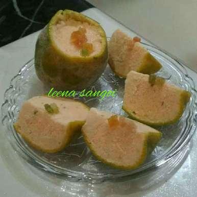 Photo of Orange blossom ice cream.... by Leena Sangoi at BetterButter