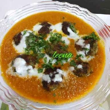 Hara Bhara Kabab With Makhani Gravy recipe in Gujarati, હરા ભરા કબાબ વીથ મખની ગ્રેવી.  , Leena Sangoi