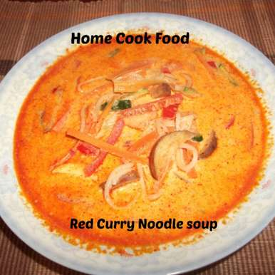 Photo of Red Curry Noodles Soup by Linsy Patel at BetterButter