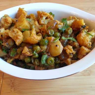 Photo of Langarwali Aloo Gobhi ki Subji | Potato and Cauliflower Curry by Linsy Patel at BetterButter