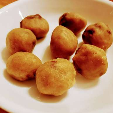 Photo of Raw Egg less Chocolate Chip  Cookie Dough Balls by Linsy Patel at BetterButter