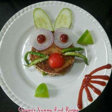 Photo of Ankurit moong sandwich by Lion Garima at BetterButter