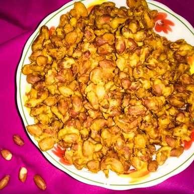 Photo of Crunchy masala peanuts by Lopamudra Mukherjee at BetterButter